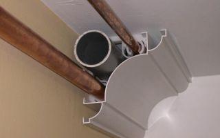 Декорация вентиляционных коробов — советы дизайнера